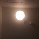 お風呂場の電球を変えました(自己責任)
