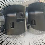 スーパー技工 替刃式のこぎり 塩ビ・アクリル用 でタンクを切る